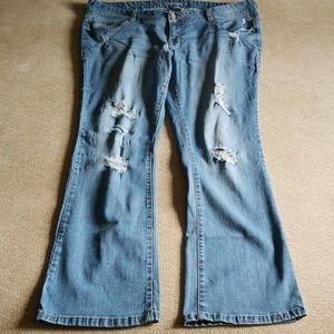 Amethyst jeans plus size 20 x 32